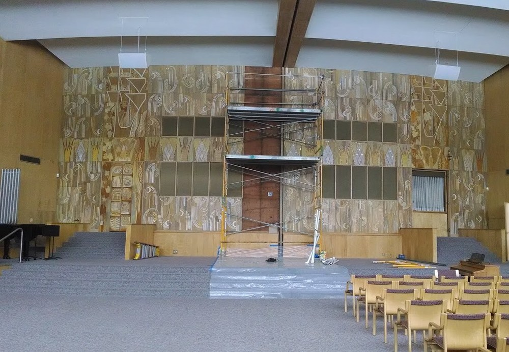 In Honor Of Pesach (Passover) Earlier This Month, Weu0027re Highlighting A  Major Conservation Treatment For Temple Emanuel, Located In Grand Rapids,  Michigan.