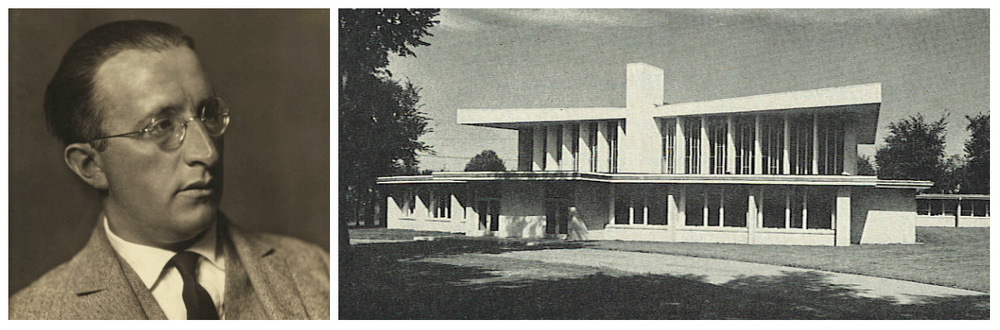 Enrich Mendelsohn; Temple Emanuel in Grand Rapids, circa 1955
