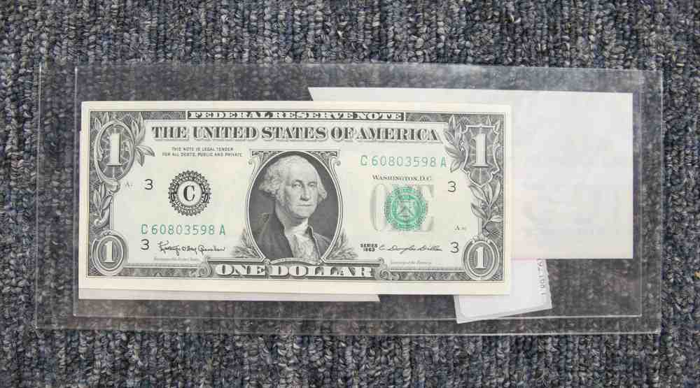 not your everyday dollar removing adhesive remnants from a rare