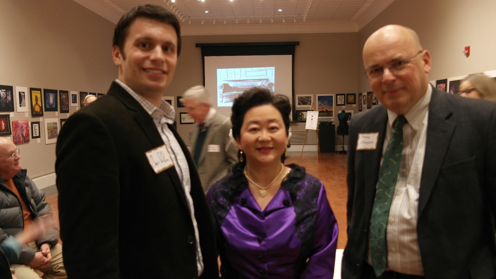 Chris DeRose – author of Congressman Lincoln; Dr. Sandra Yeh; Dr. Brooks Simpson – historian, author of The Civil War: The First Year in the Words of Those Who Lived It, The Civil War in the East: Struggle, Stalemate, and Victory, and Victors in Blue: How Union Generals Fought the Confederates, Battled Each Other, and Won the Civil War, among others