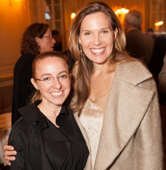 Vice President of Client Services April Hann-Lanford, and CEO Heather Becker of The Conservation Center at the Glessner House Museum Gala