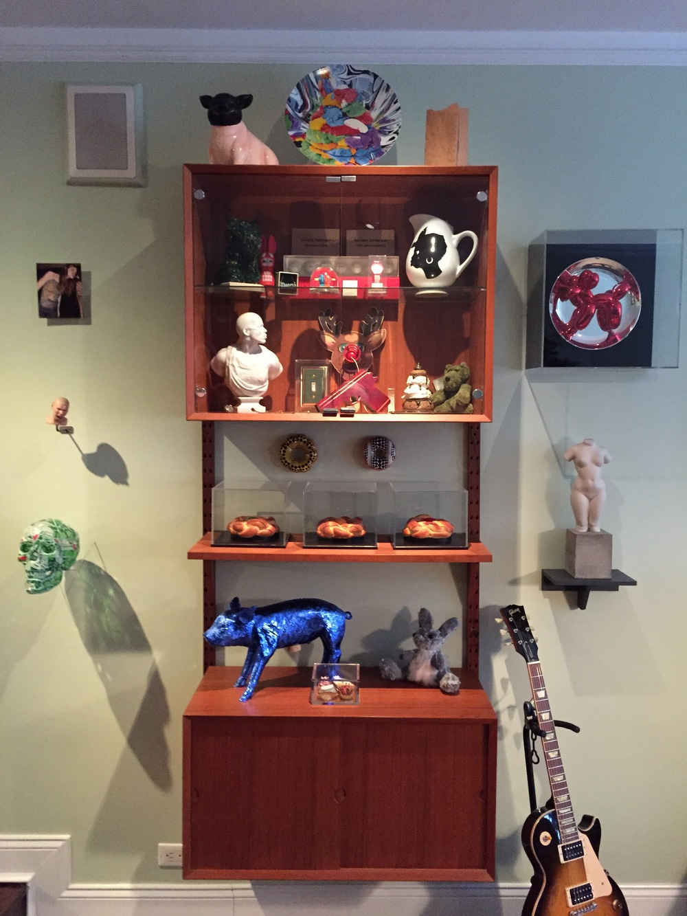 Michael Lyons Wier's contemporary art objects display (view 1)