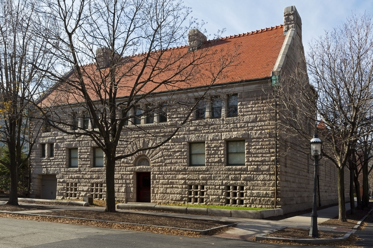 The Glessner House today, photo courtesy of the Glessner House Museum.