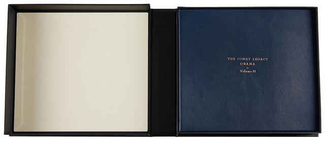 Book II in its custom-made clamshell box.