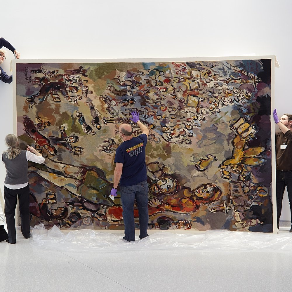 Frame by Frame: Chagall Installation
