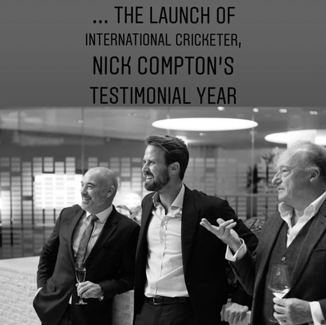 Overwhelmed by the support at the Launch Event @couttsbank thanks so much to all that made the effort! Especially the legends @didougherty1 @mattprior13 @montypanesar @al_hargreaves @bradmbarritt @olliephillips11 #coutts