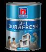 NIPPON 3-IN-1 DURAFRESH สีน้ำอะครีลิคยืดหยุ่นระดับพรีเมี่ยม สำหรับภายนอก