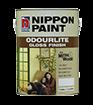 นิปปอน โอเดอร์ไลท์ กลอส ฟินิช NIPPON ODOURLITE นิปปอนโอเดอร์ไลท์กลอสฟินิชทาได้ทั้งภายนอกและภายใน