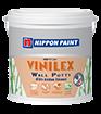 นิปปอน วินิเล็กซ์ วอลล์ พัตตี้ NIPPON Vinilex WallPutty ขัดง่าย ไม่ยุบตัว ไม่ดูดซึมสีทับหน้า