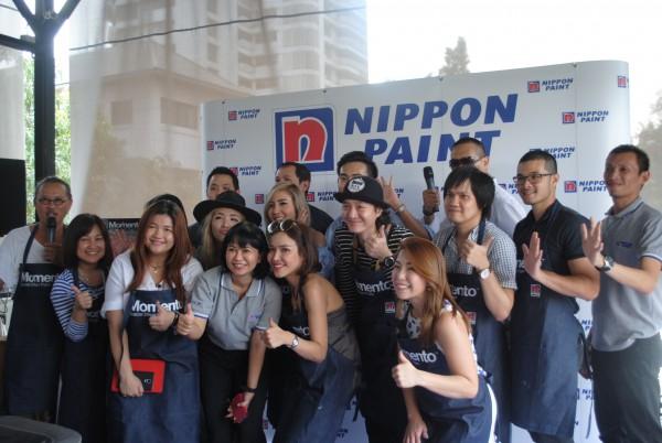 Nippon Paint Momento Join The Bloggers' กิจกรรมแนะนำการใช้สี Momento ที่ใครๆ ก็กลายเป็นช่างทาสีได้