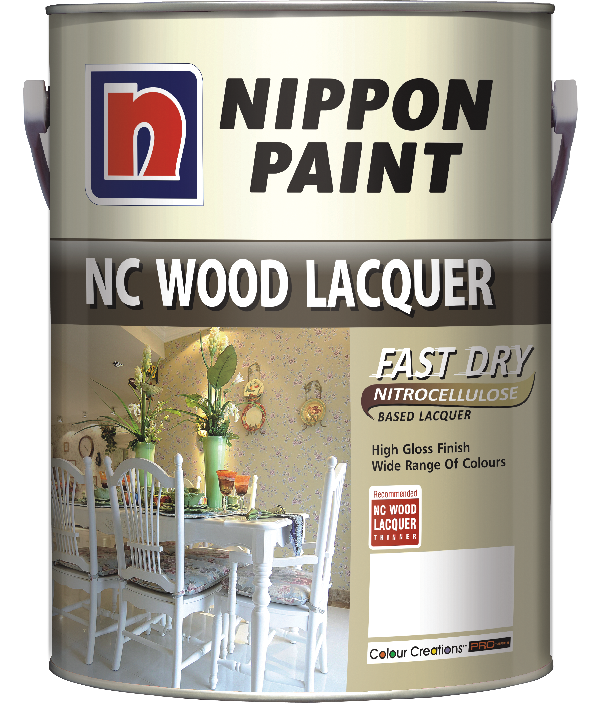 Nippon NC Wood Lacquer Clear