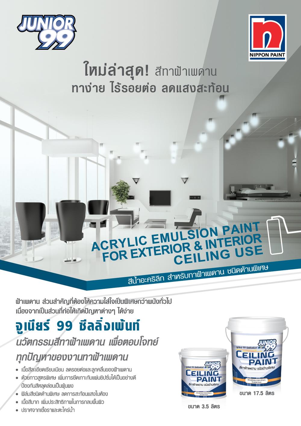 Junior 99 Ceiling paint
