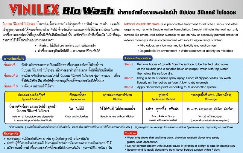 Vinilex Bio Wash
