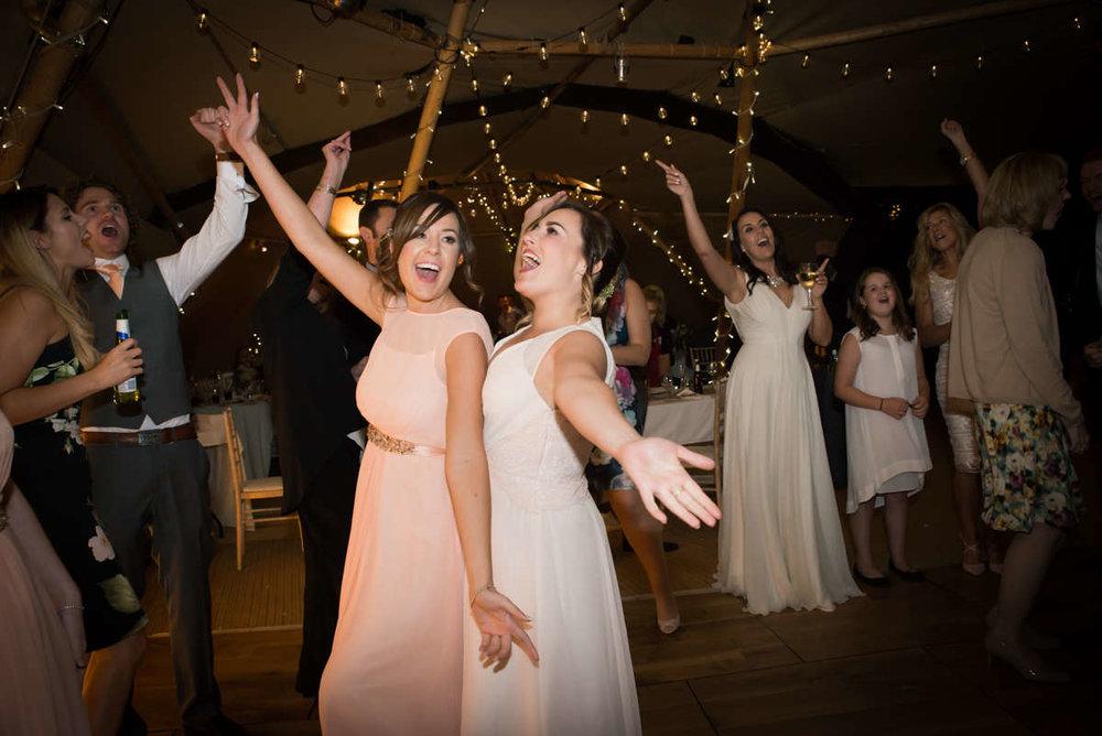 Party time! - Michaila & Ed | Deighton Lodge wedding photography