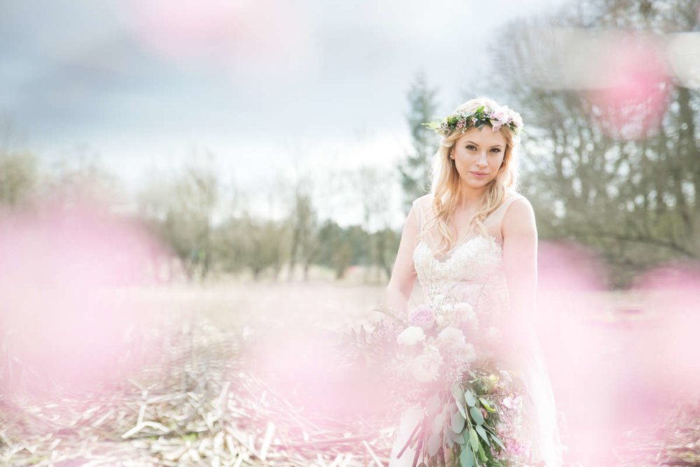 Pretty Pastels - 'The Nuptial' feature