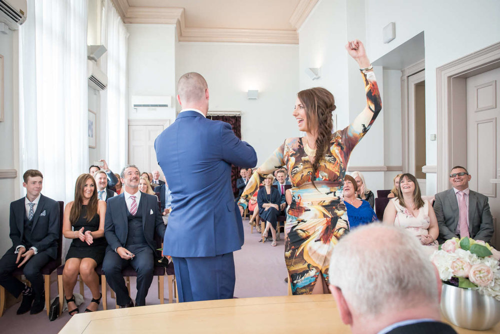 Sarah & Dave   Leeds Town Hall Wedding - Oh my god! We've not stopped talking about the shoot! We enjoyed it so much. Your tone, approach and passion for your job SO shines through! You just get us! Thank you lots xx