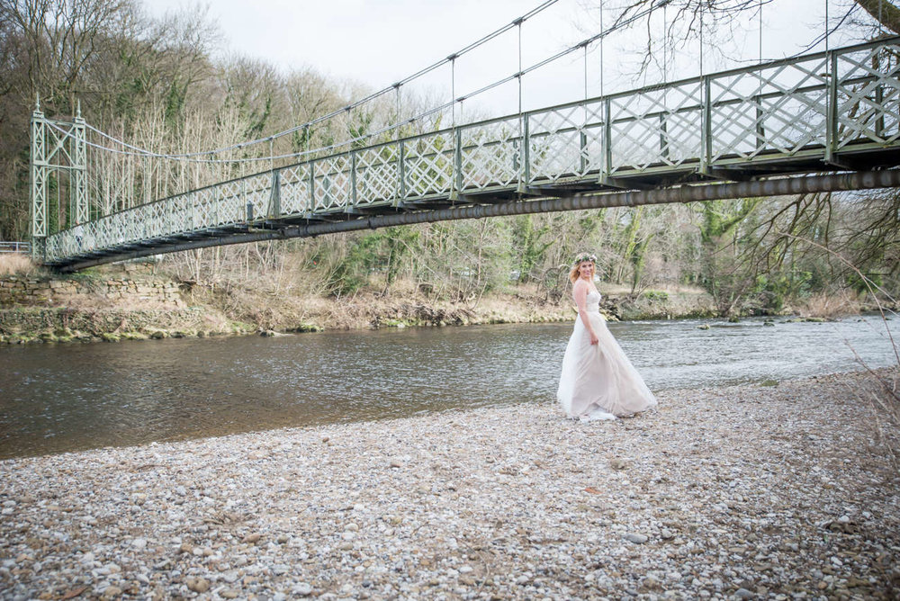 Riverside wedding yorkshire