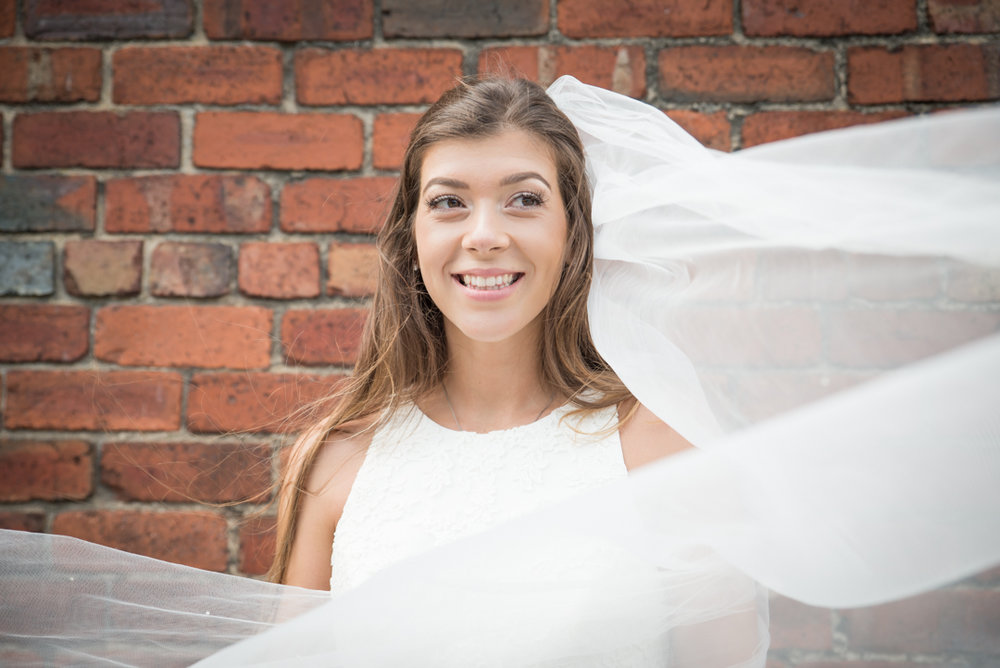 Leeds wedding bridal portrait