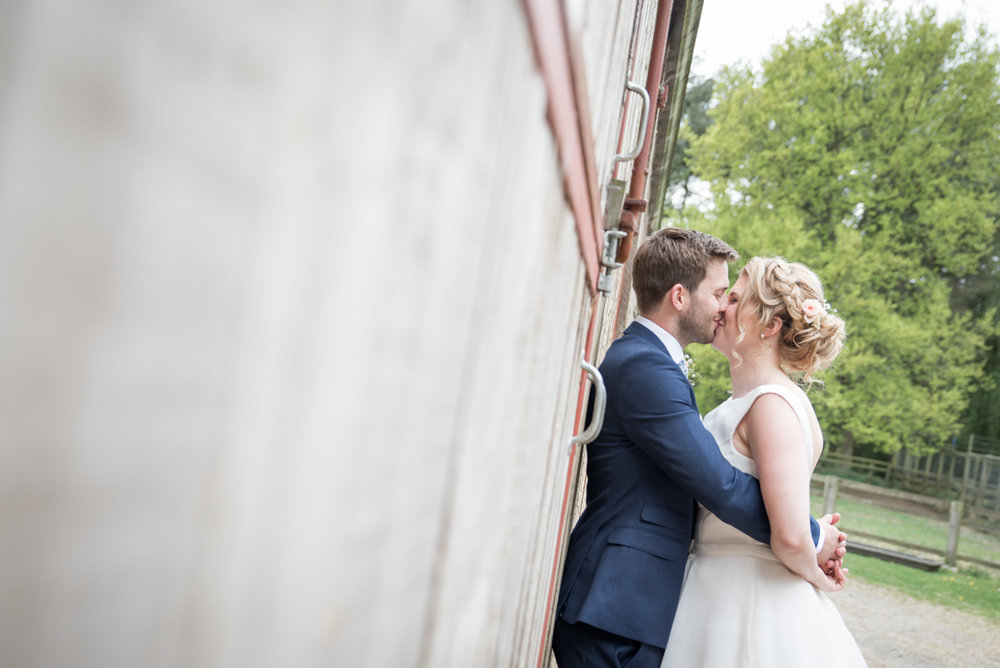 Liz & Matt - Lineham Farm wedding
