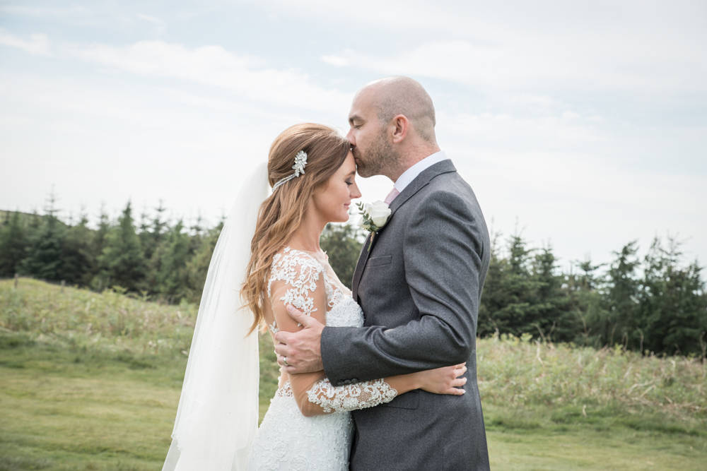 Time alone - Laura & Michael | Lordstones wedding photography