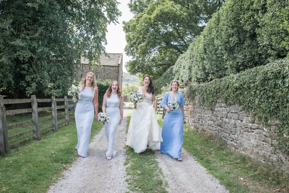 Group Photos - Katy & Marc | Burnsall Village Hall wedding photography