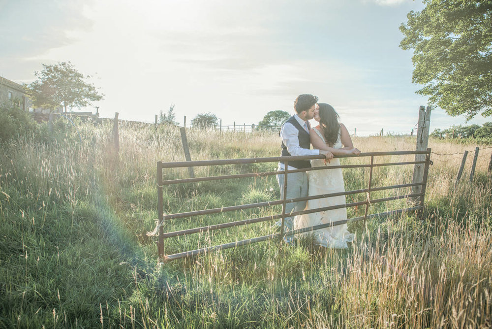 Katy & Marc - burnsall wedding