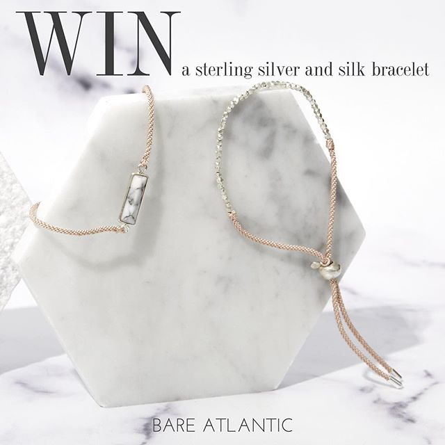 ✨WIN A BRACELET✨  To celebrate the launch of the new gemstone collection we're having a giveaway!  To enter: 1. Like this post 2. Share this image and tag @bareatlantic 3. Make sure you're following us!  The winner will be be able to choose any bracelet available on the website (link in bio). The competition will close at 10pm on Friday 15th December and the winner announced the following day.  Open to all UK addresses 🇬🇧 Good luck!