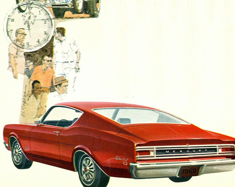Mercury Muscle Cars — Texoma Classics - Classic Vehicle Restorations