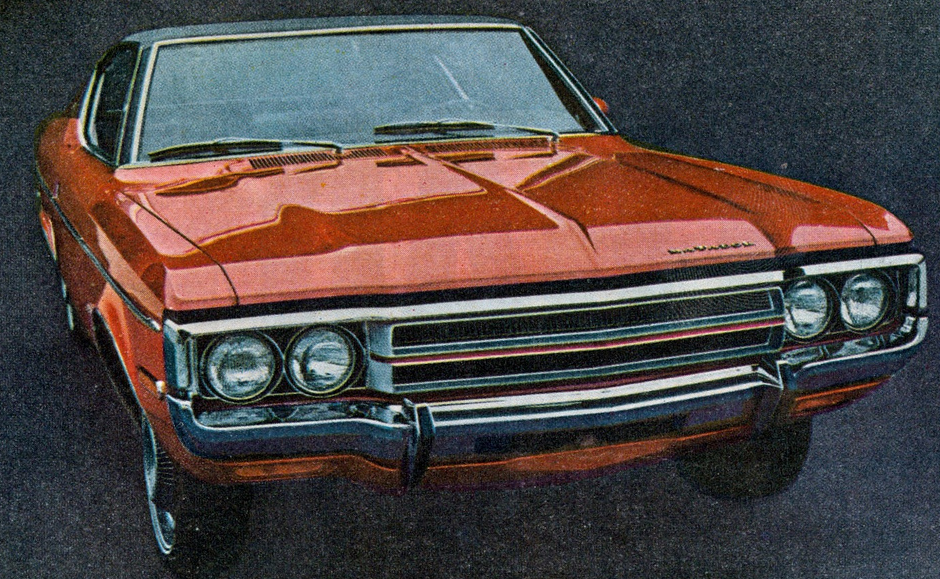 Advertising image by AMC for the 1971 Matador.
