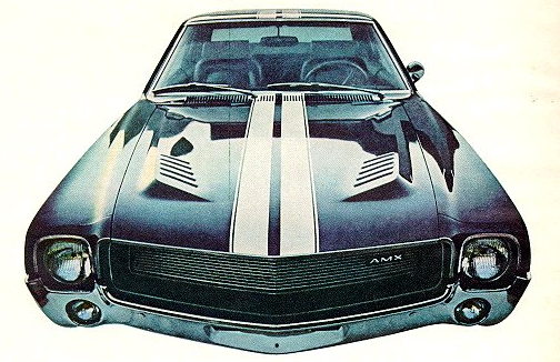 AMC Advertisement for the 1968 AMX.