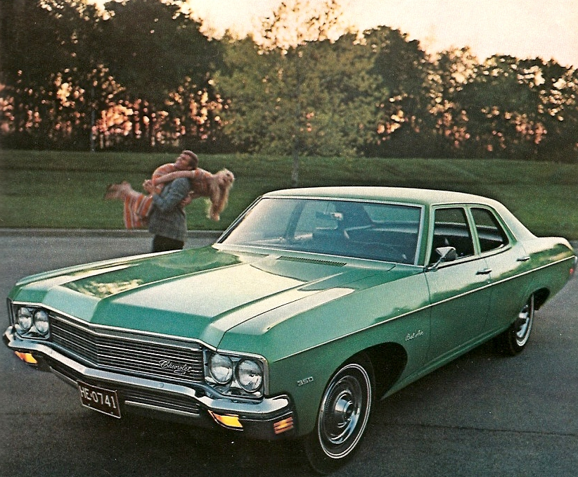 Advertisement for the 1971 Bel-Air.