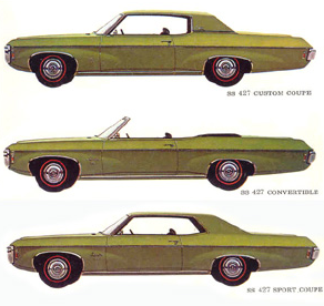 Advertisement for the 1969 Impala.