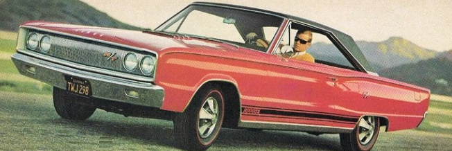 Advertisement for the 1967 Coronet R/T.