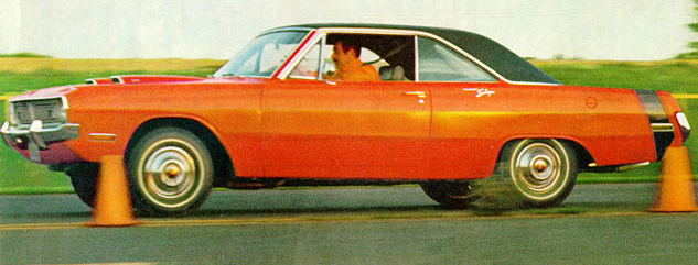 Advertisement for the 1970 Dodge Dart Swinger.