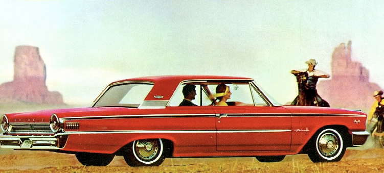 Advertisement for the 1963 Galaxie.