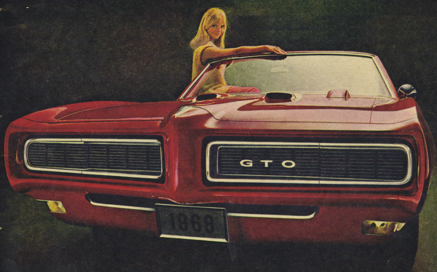 Advertisement for the 1968 GTO.