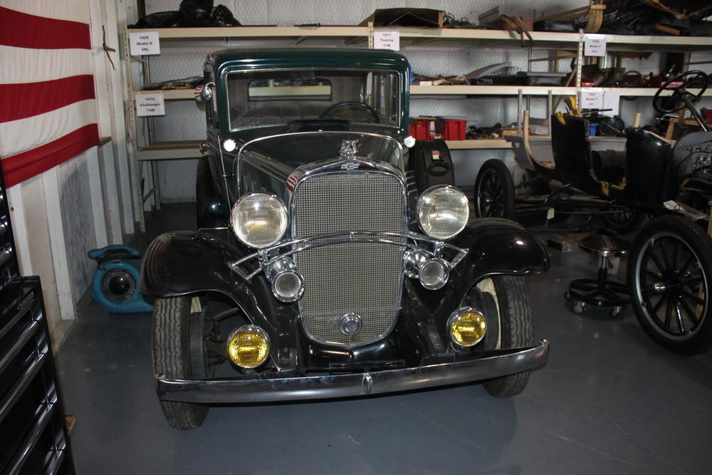 The 1932 Chevrolet.