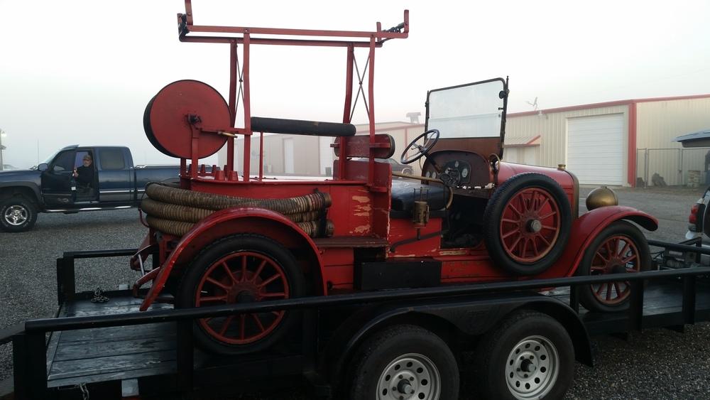 The 1924 Delahaye.