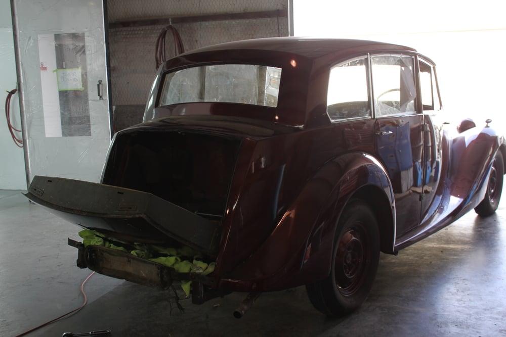 1951 Triumph Renown Saloon Limo