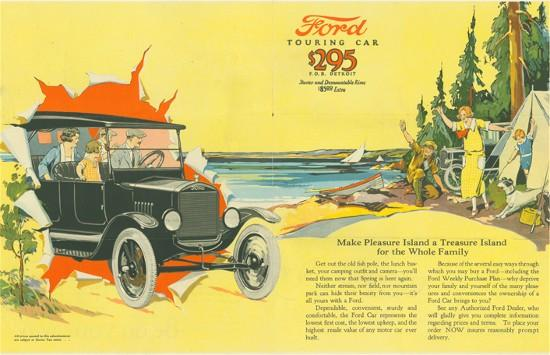 Ford Model T ad