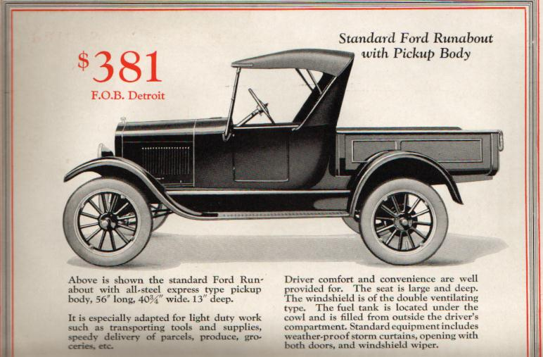 1926 Ford Model T Texoma Classics Classic Vehicle