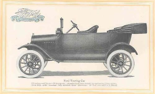 1917 Ford Model T Touring picture