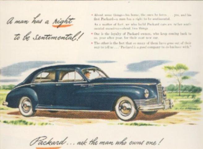 Packard Super 8 ad
