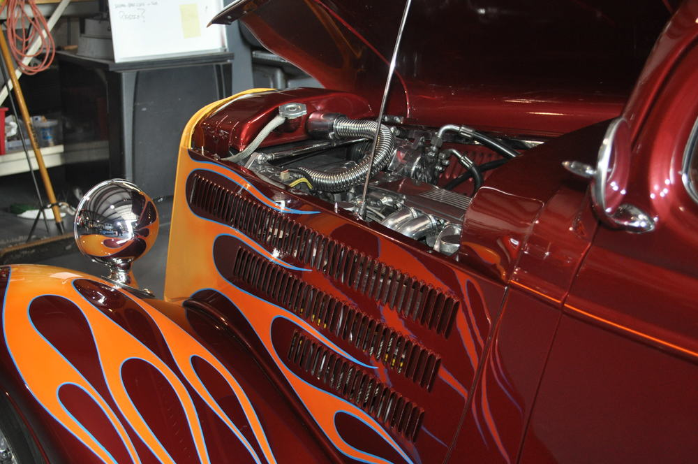 1933 Custom Ford Coupe