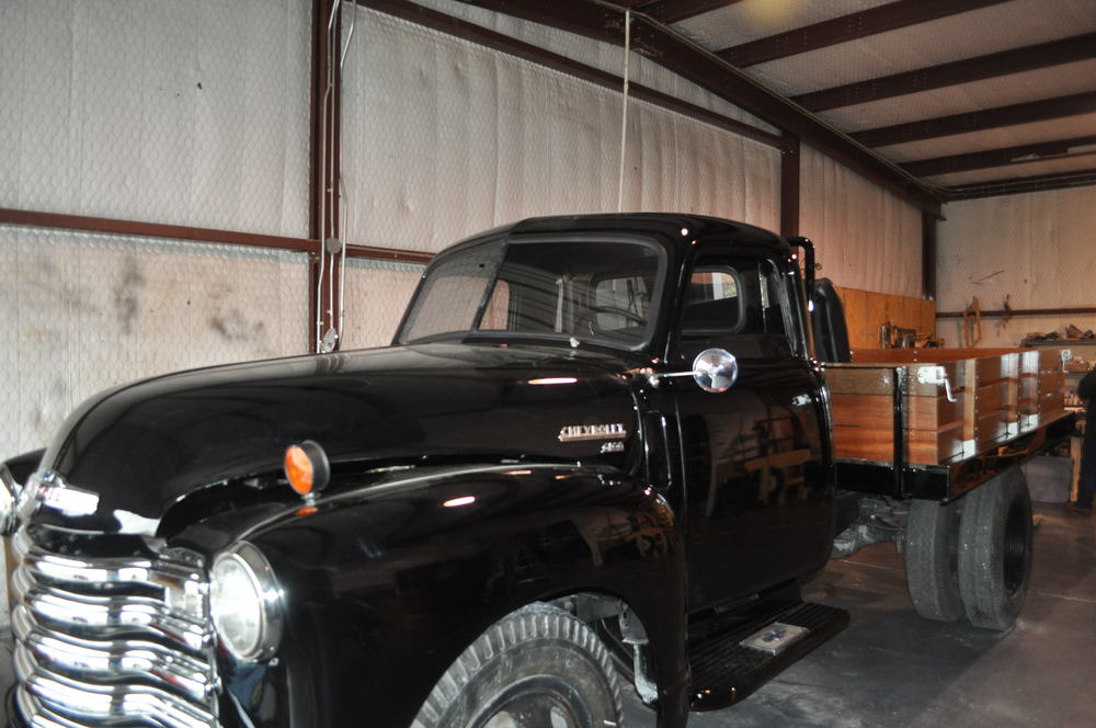 1951 Chevrolet 6100 Flat Bed Partial Restoration