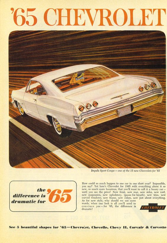Chevrolet Impala ad