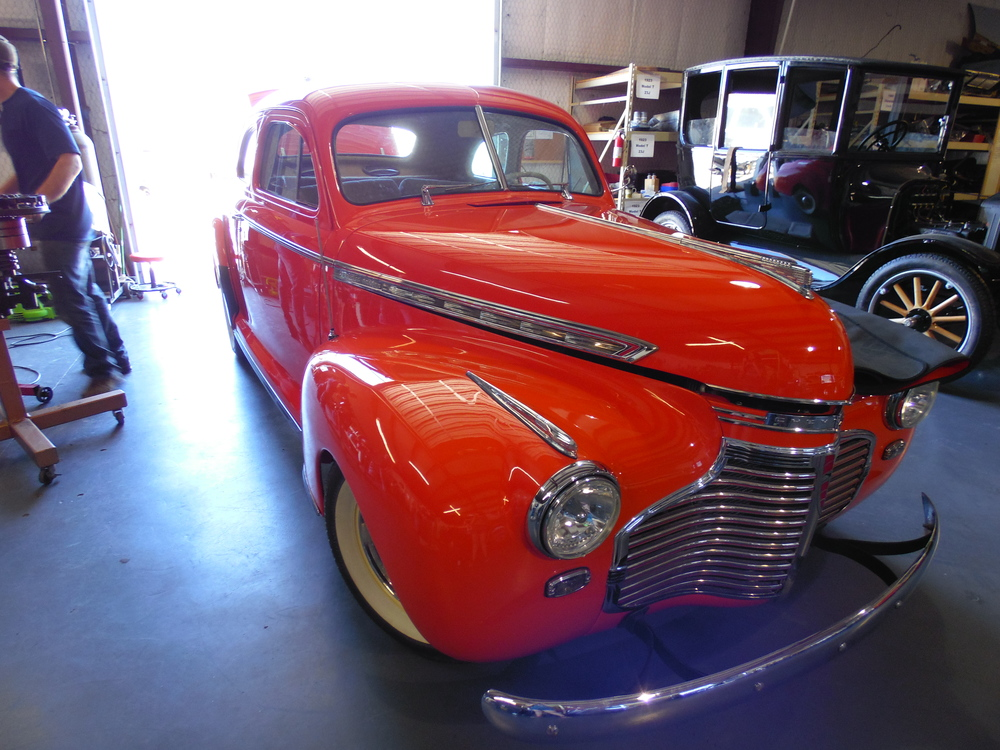 We completely overhauled this '41 Chevy, inside and out!