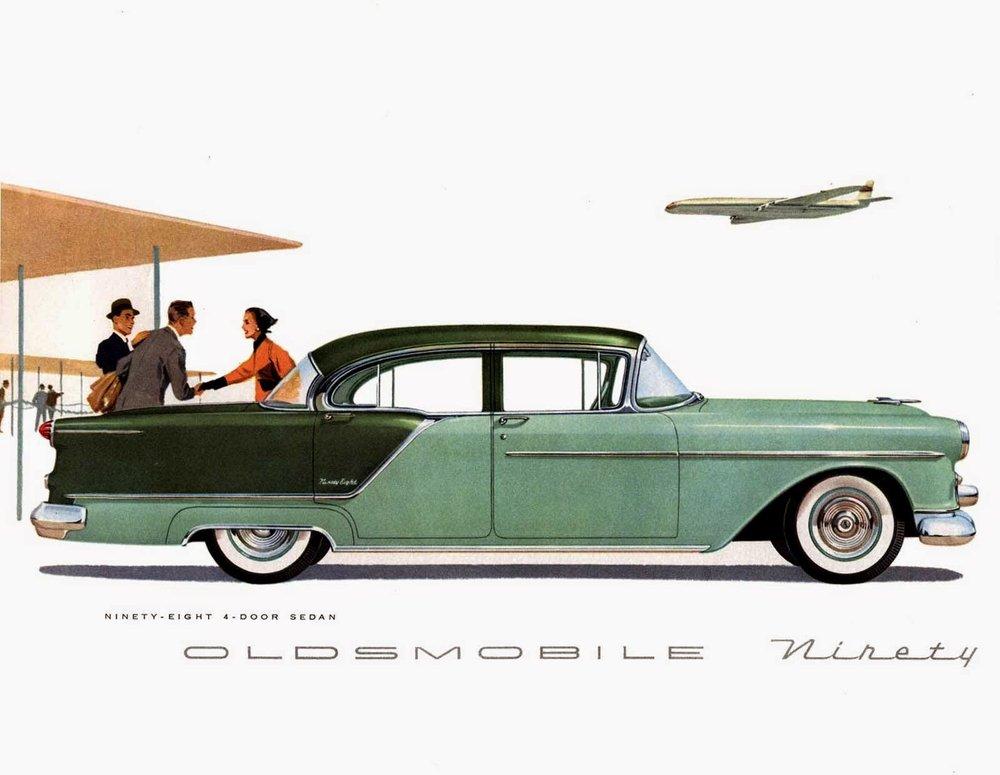 Oldmobile ad