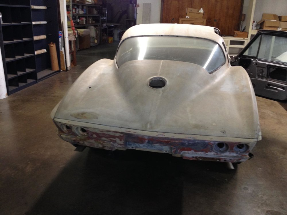 1965 Matching Parts Corvette Stingray Rear