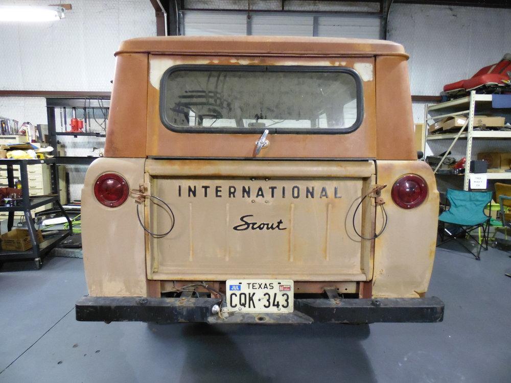 1963 International Harvester Scout